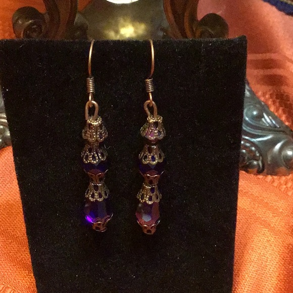 handmade Jewelry - Victorian,downtown abbey,Edwardian earring